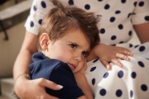worried little boy